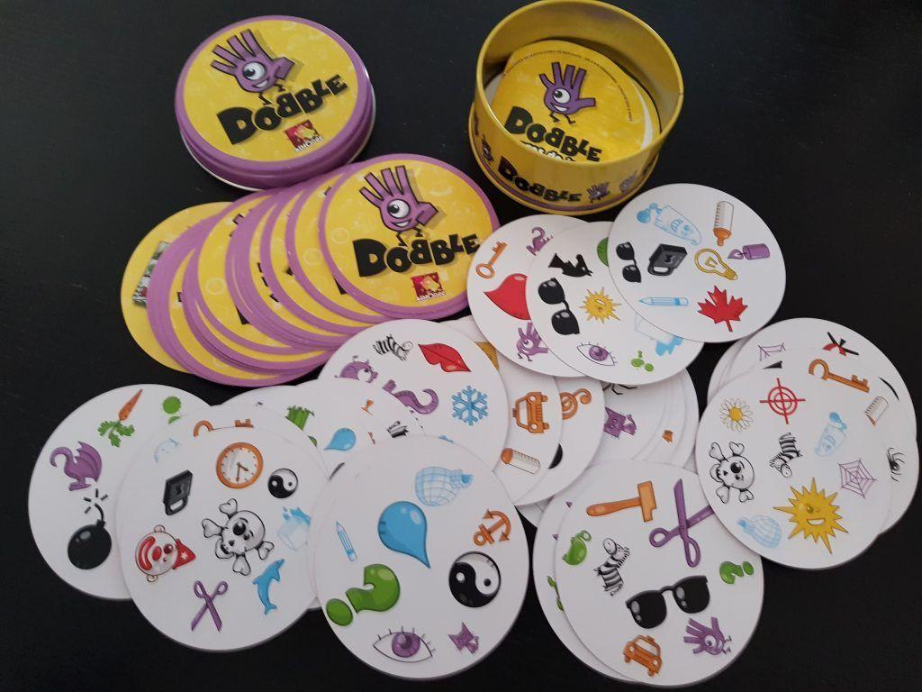 juego de mesa dobble