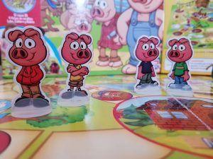 juego de mesa los tres cerditos