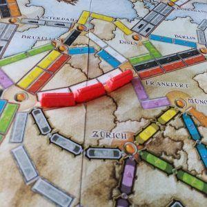 juego de mesa aventureros al tren europa