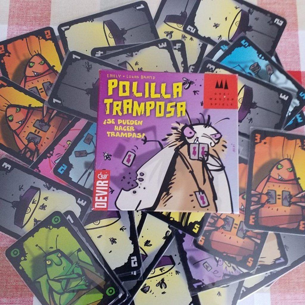 juego de cartas la polilla tramposa