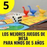 mejores juegos de mesa para niños de 5 años