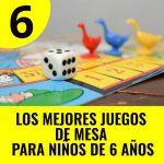 mejores juegos de mesa para niños de 6 años