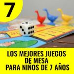 mejores juegos de mesa para niños de 7 años