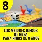 mejores juegos de mesa para niños de 8 años